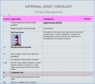 Audit Checklists A Help Or Hindrance  Bms Services