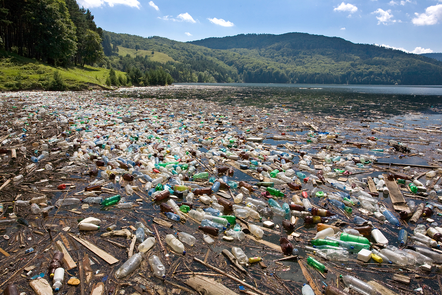 beach pollution and its effects on Oil spill behavior when oil is spilled in the ocean, it initially spreads in the water (primarily on the surface), depending on its relative density and composition.